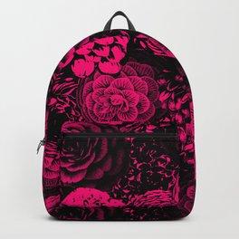Moody Florals in Magenta Backpack
