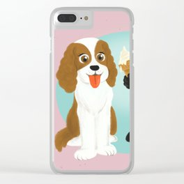 Share the ice cream Clear iPhone Case