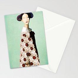 Kimono Queen - Kubistika by Boris Draschoff Stationery Cards