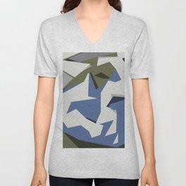 Flying birds Unisex V-Neck