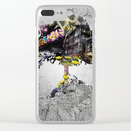 Urban Sprawl Clear iPhone Case