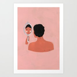 Reflection - for the New York Times Art Print