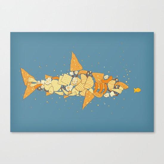 Snack Attack Canvas Print