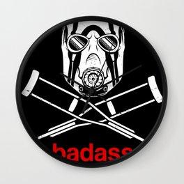 Badass - The Video Game Wall Clock