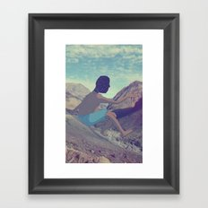 Giant of the Cajon Framed Art Print