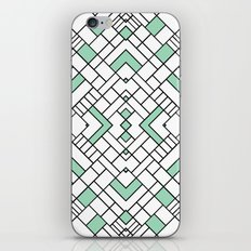 PS Grid 45 Mint iPhone & iPod Skin
