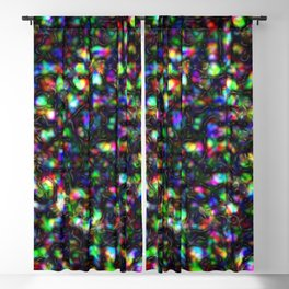 Metal Old Colorful Blackout Curtain