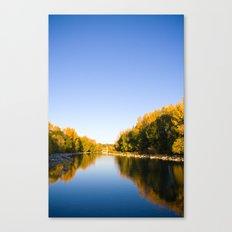 Autumn Reflections - Calgary, AB Canvas Print