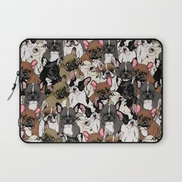 Social Frenchies Laptop Sleeve