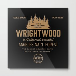 Wrightwood California Metal Print