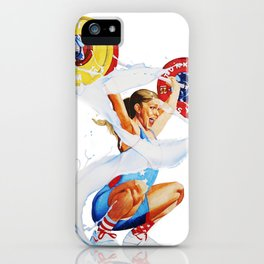 Bulking is a Feminist Act: Mattie iPhone Case