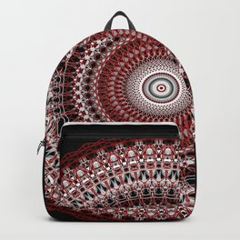 Whirls of Maroon Backpack