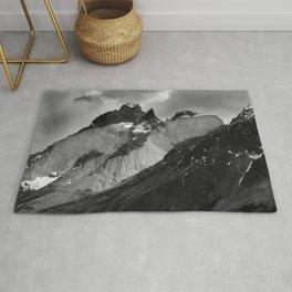 Patagonian Mountains Rug