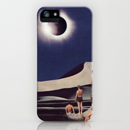 SOLAR ECLIPSE iPhone Case