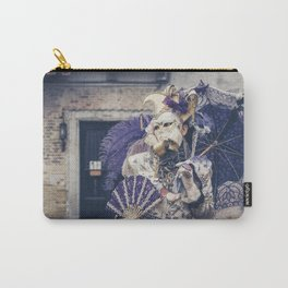 Carnavale di Venezia 2018 purple Carry-All Pouch