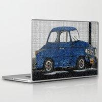 cuba Laptop & iPad Skins featuring Cuba Car by Sartoris ART