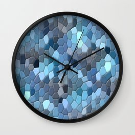 Monday Blues..... Wall Clock
