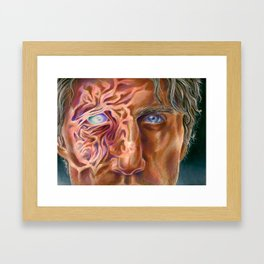 He Fears Compassion Framed Art Print