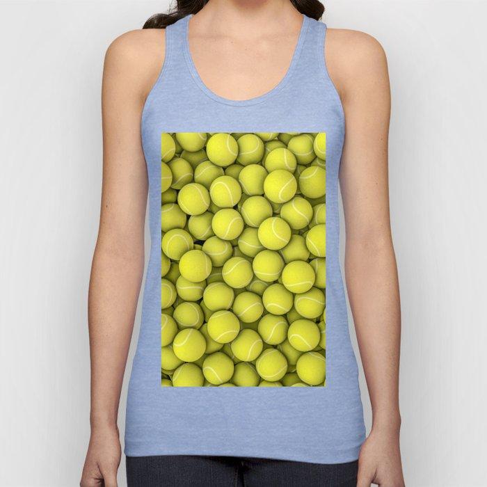 Tennis balls Unisex Tank Top
