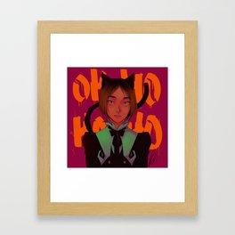 OHOHOHO (Kenma ver) Framed Art Print