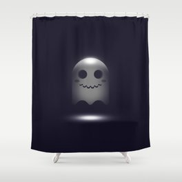 Ghost in 3D Shower Curtain