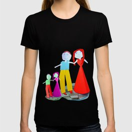 Dance me to the end of love | Kids Painting by Elisavet T-shirt