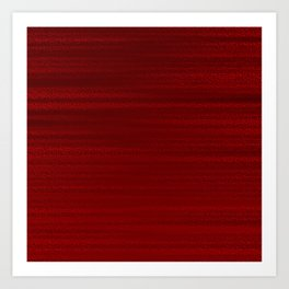 Absolute Red Art Print
