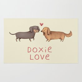 Doxie Love Rug