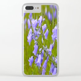 Bluebells Meadow #decor #society6 Clear iPhone Case