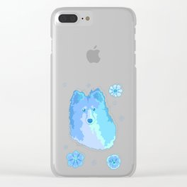 Soft Garden - Evening Clear iPhone Case