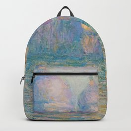 """Claude Monet """"Grand Canal, Venice"""" Backpack"""