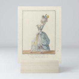 Robe à l'Anglais Mini Art Print