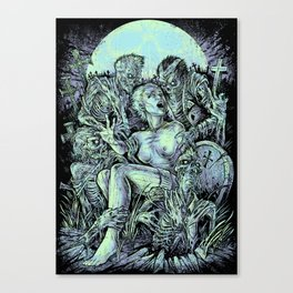 The Return of the Living Dead Canvas Print