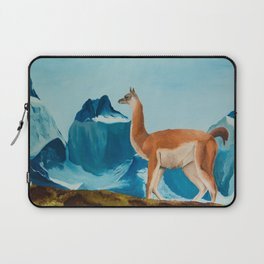Guanaco South America Oil Painting Laptop Sleeve