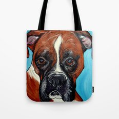 Oscar the Boxer Tote Bag
