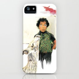 A BOY IN THE WILD iPhone Case