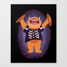 Smashing Halloween Canvas Print