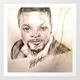 CHRIS TUCKER Art Print