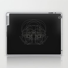 D like Darth Vader (B&W version) Laptop & iPad Skin