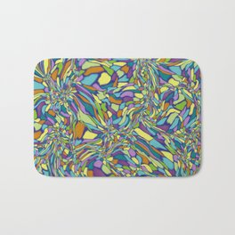 Trippy-Jardin colorway Bath Mat