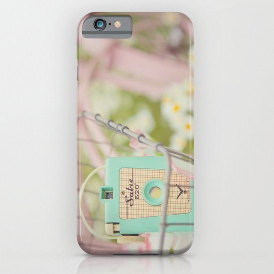 Bike ride through the daisys... iPhone & iPod Case