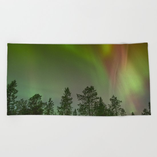 Aurora VI Beach Towel