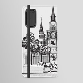 New Orleans Android Wallet Case