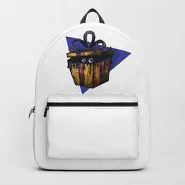 a Christmas mystery gift Backpack