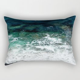 Pacific Ocean Colors Rectangular Pillow
