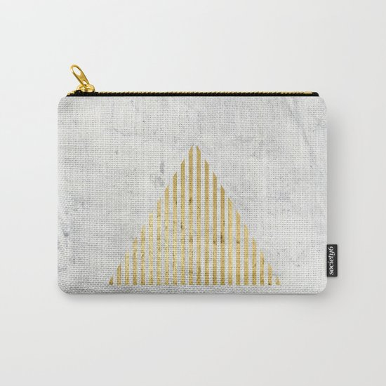 Trian Gold Carry-All Pouch