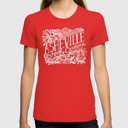 Asheville Hand Lettered T-shirt