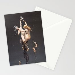 L'étoile Double (Twin Stars) Stationery Cards