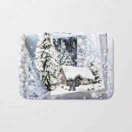 Winterwunderland Bath Mat