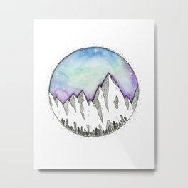 Mountain Scenes Metal Print